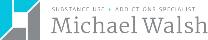 Logo for Michael Walsh Substance Use + Addictions Specialist
